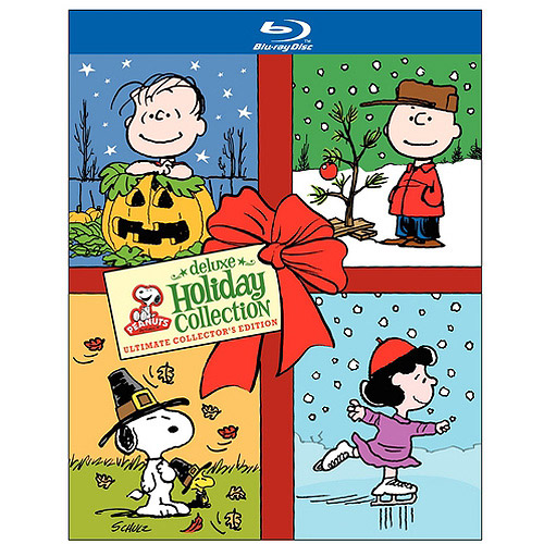 Peanuts Holiday Collection: It's The Great Pumpkin, Charlie Brown / A Charlie Brown Thanksgiving / A Charlie Brown Christmas (Deluxe Edition) (Blu-ray)
