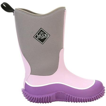 ea84c57ea95 Muck Boot Company - Muck Boot Kids  Hale Insulated Rain Boots (Grey Purple