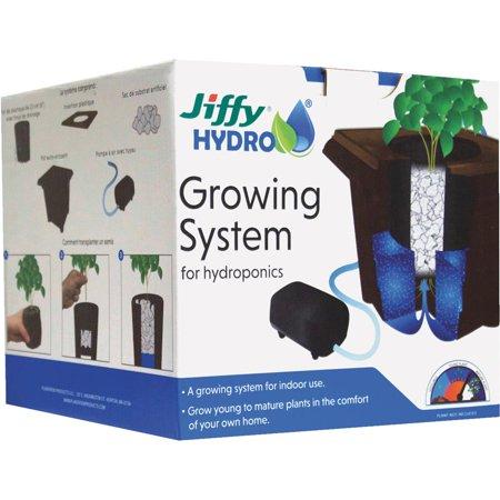 Plantation Prod. Jiffy Hydro Grow System JHGROW-6