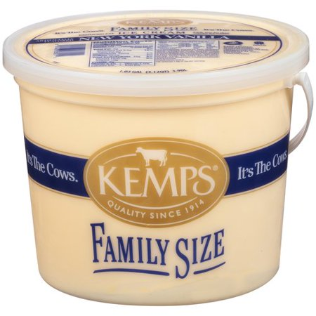 Kemps New York Vanilla Ice Cream Pail