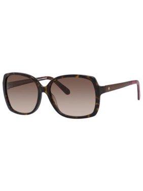 1ac77d241d0 Product Image KATE SPADE Sunglasses DARILYNN S 0SBI Havana Brown 58MM
