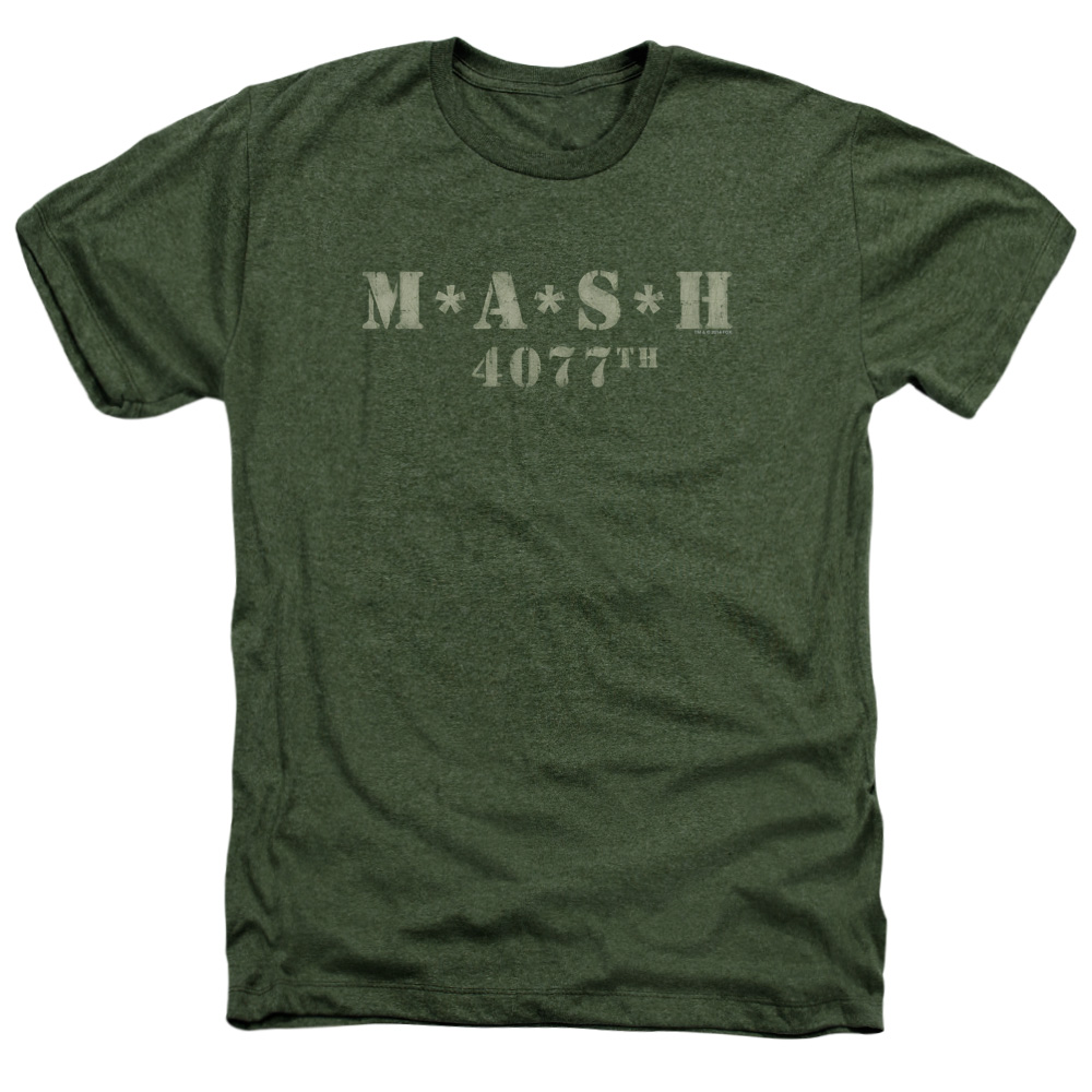 Mash Distressed Logo Adult Heather
