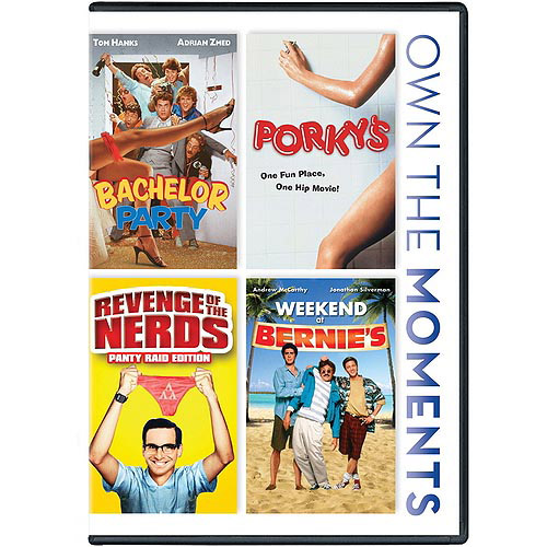 Bachelor Party / Porky's / Revenge Of The Nerds / Weekend At Bernie's (Widescreen)