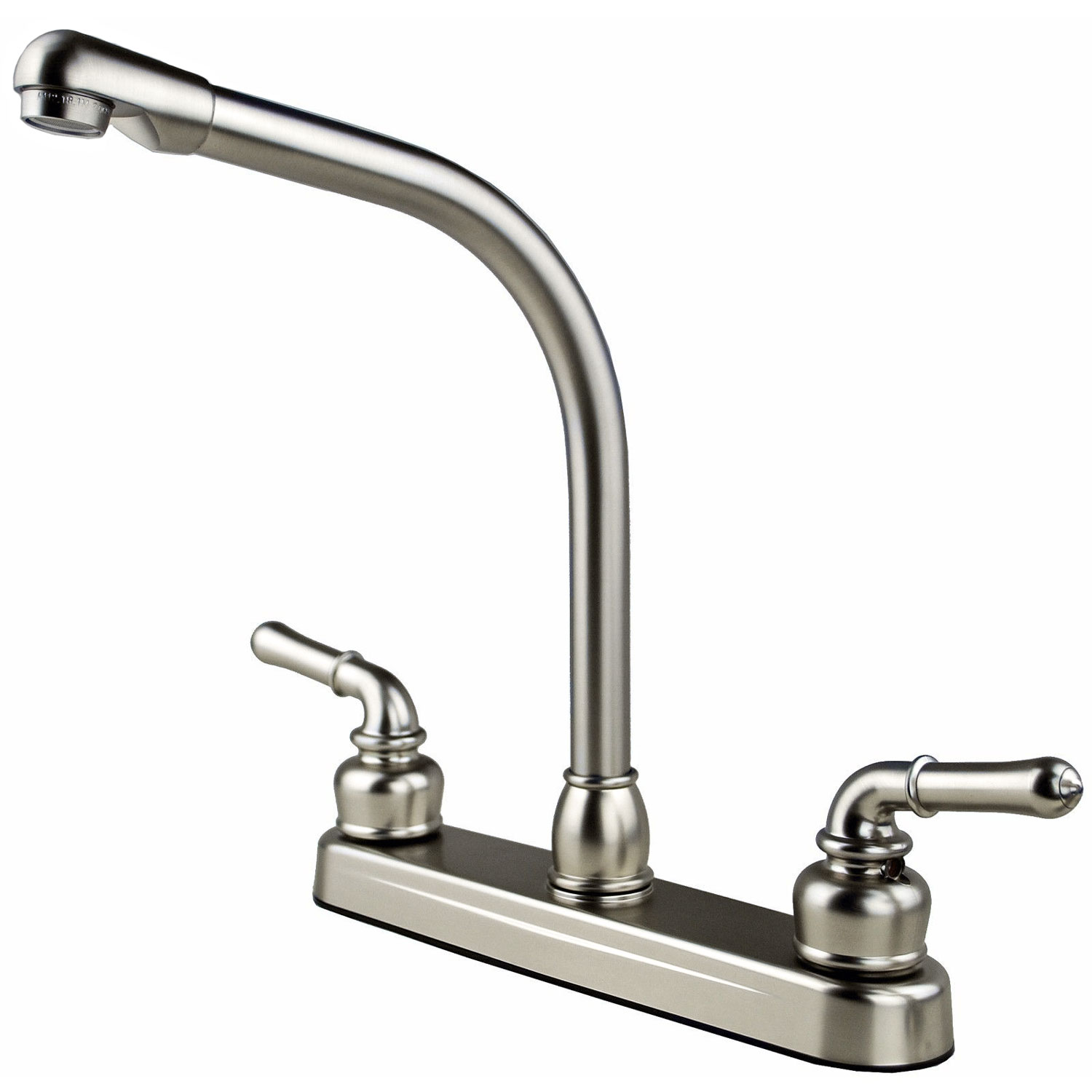 rv / mobile home travel trailer high rise kitchen sink faucet