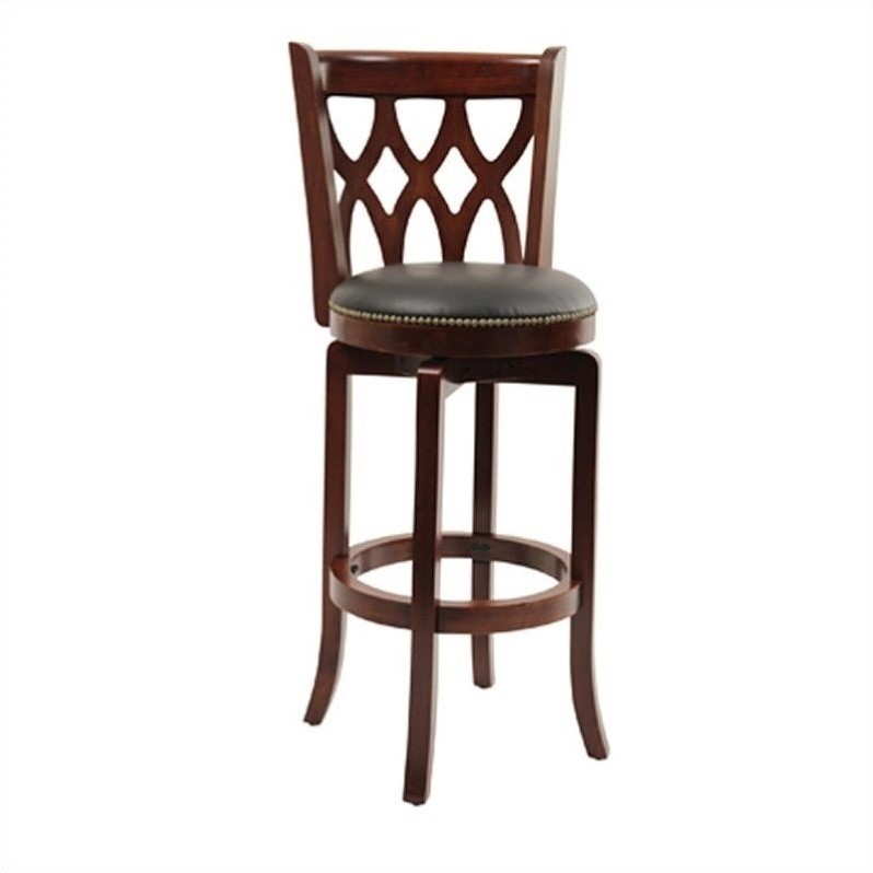 Boraam Cathedral Swivel Bar Stool 29  Multiple Colors  sc 1 st  Walmart & 34