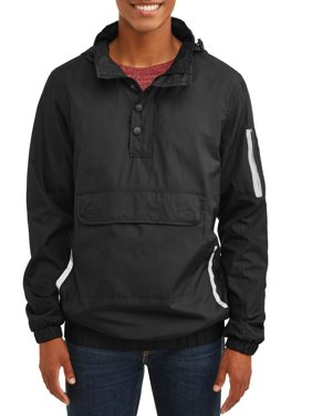 d188b0cf38 Product Image Men's 1/4 Zip Lightweight Front Pouch Jacket With Reflective  Trim, Up To Size