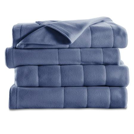 1066 Dual Channel - Sunbeam Electric Heated Fleece Channeled Blanket