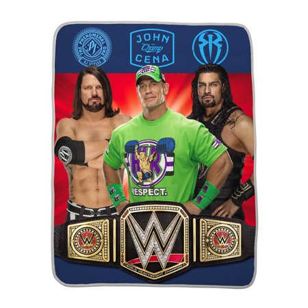 WWE Kids Silky Soft Throw, 40 x 50, World Champs, 1 Each Mlb Soft Throw