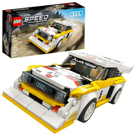 LEGO Speed Champions 1985 Audi Sport Quattro S1 Toy Car Building Kit 76897