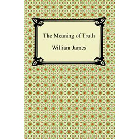 The Meaning of Truth - eBook for $<!---->