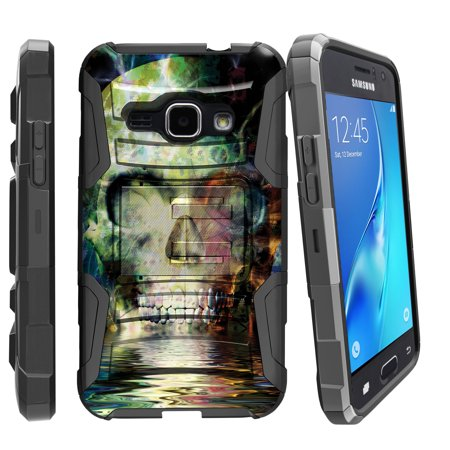 Case for Samsung Galaxy On5 | On5 Hybrid Case [ Clip Armor ] Heavy Duty Case with Belt Clip & Kickstand Skull Collection