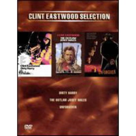 Clint Eastwood Selection  Dirty Harry The Outlaw Josey Wales Unforgiven
