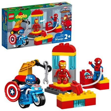 LEGO DUPLO Super Heroes Lab Marvel Avengers Toy 10921