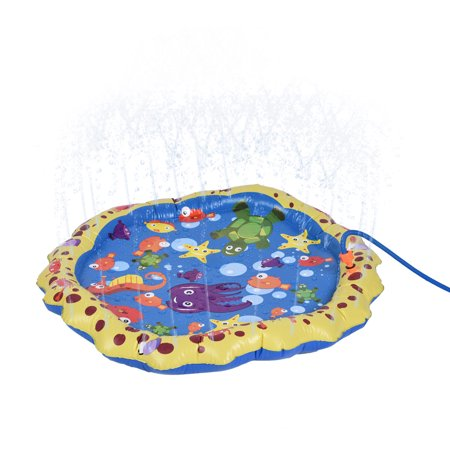 Water Toys Fun For Children Toddlers Kids Outdoor Party Sprinkler Splash Pad by Iuhan