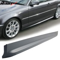 Compatible with 00-06 E46 3 Series 2Dr MT M Sport PP Underboard Side Skirts Replacement