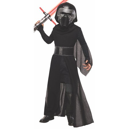 Halloween Review (Costume Star Wars Episode VII: The Force Awakens Deluxe Kylo Ren Child Costume, Small, NOTE: Costume sizes are different from clothing sizes; review the Rubie's.., By)