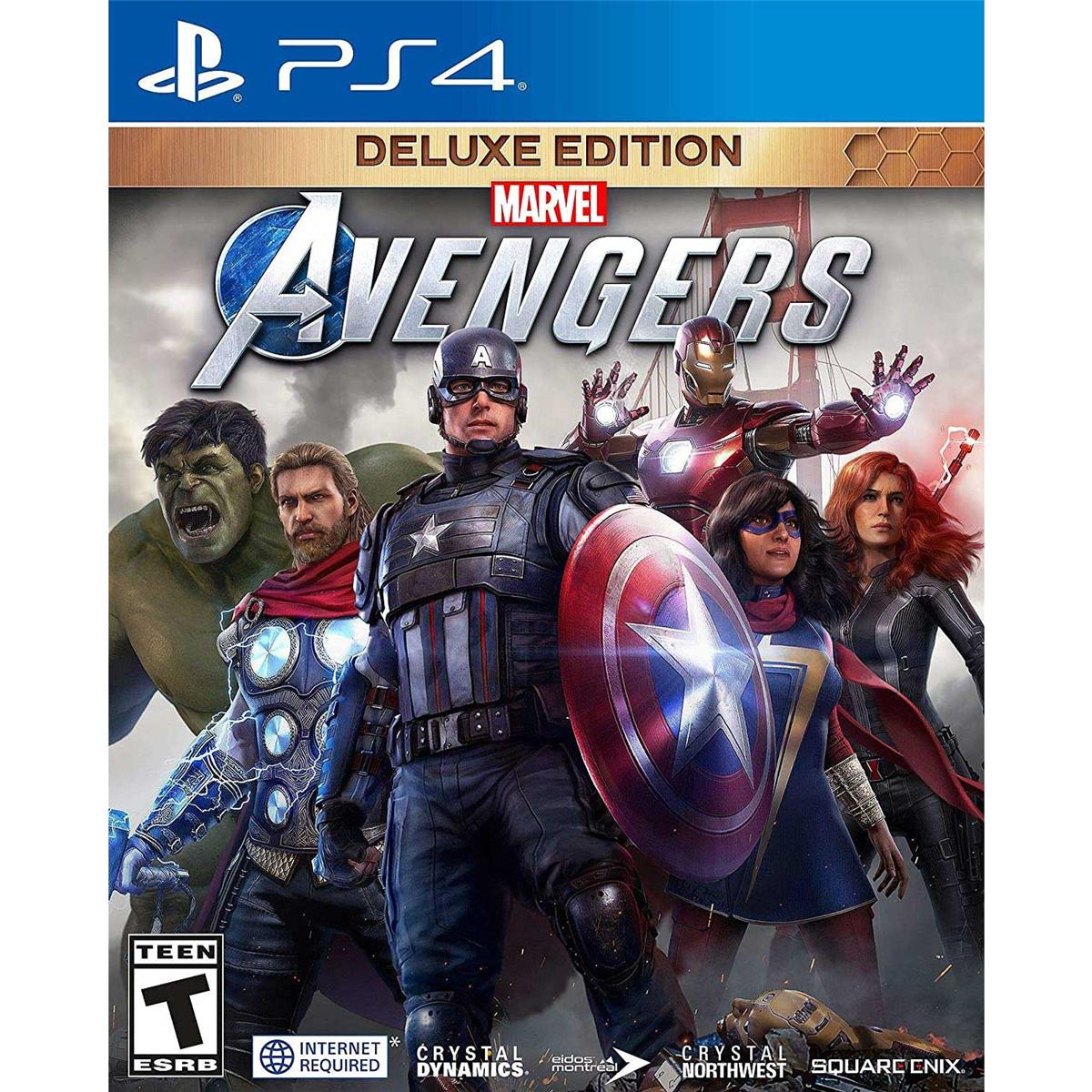 Marvel's Avengers: Deluxe Edition, Square Enix, PlayStation 4