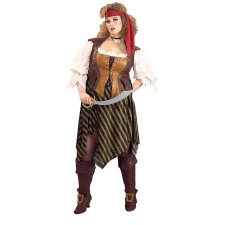 Adult Plus Pirate Wench Costume Rubies 17420 (Pirate Wench)