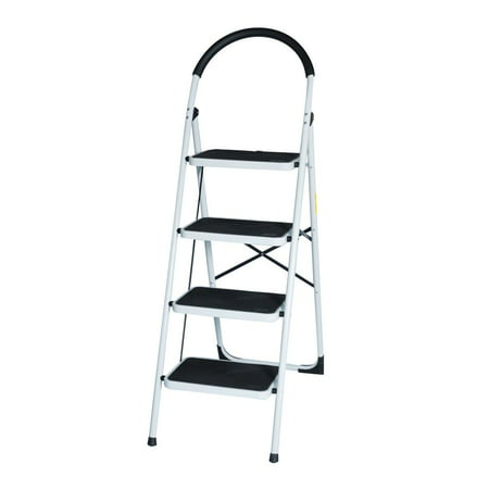 New En131 Folding 4 Step Ladder Home Depot Lightweight 300
