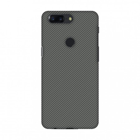OnePlus 5T Case, Premium Handcrafted Designer Hard Snap on Shell Case ShockProof Back Cover with Screen Cleaning Kit for OnePlus 5T - Neutral Grey Texture