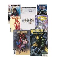 Marvel Comics 7 Pack Mystery Bundle- Get 7 Randomly Picked Marvel Comics from the Marvel Universe | Includes Star Wars, X-Men, Avengers and More!