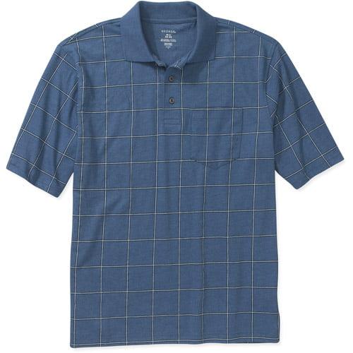 George Men's Pattern Jersey Polo