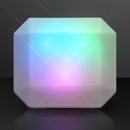 FlashingBlinkyLights Color Changing Emerald-Cut LED Deco Gem Ring