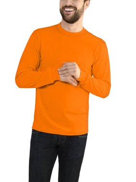 955ce63e Free shipping on orders over $35. Free pickup. Product Image Fruit of the  Loom Men's Platinum EverSoft Long Sleeve T-Shirt, Available up to