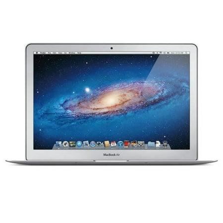 Apple MacBook Air MD232LL/A Intel Core i5-3427U X2 1.8GHz 4GB 256GB SSD, Silver (Scratch And Dent Refurbished)