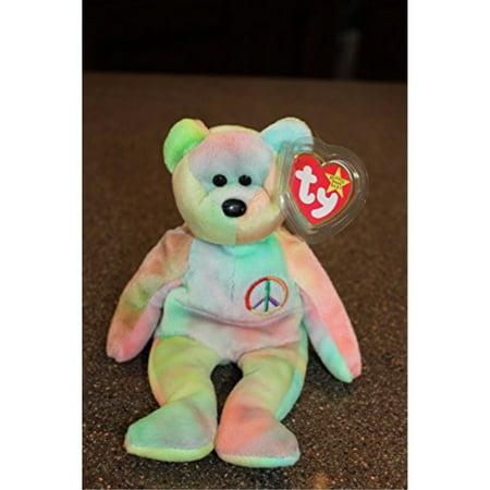 TY Beanie Baby Peace Bear by TY Beanie Baby - Walmart.com 0cc32e8b957