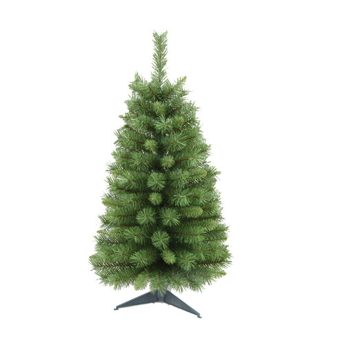 Santa's Workshop 3' Green Pine Artificial Christmas Tree with Stand