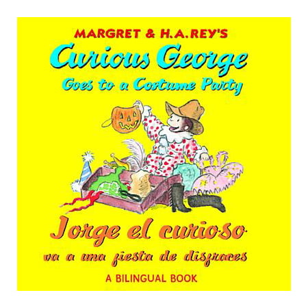 Jorge el curioso va a una fiesta de disfraces/Curious George Goes to a Costume Party (Bilingual edition) - eBook