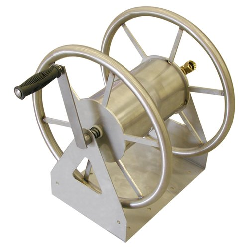 3-IN-1 HOSE REEL STAINLESS STEEL