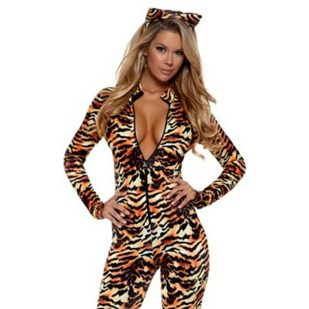 Seductive Stripes Tiger Costume 553719 by Forplay Animal - Seductive Costumes