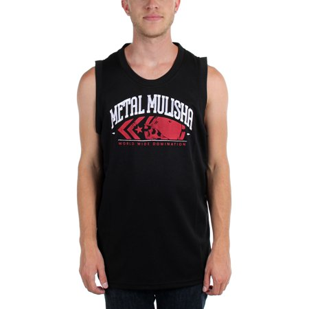 83dbaf6ae24827 Metal Mulisha - Metal Mulisha - Mens The Crew Jersey Tank Top - Walmart.com