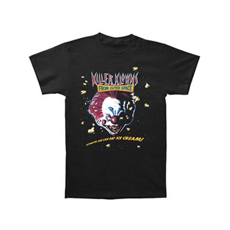 Killer Klowns From Outer Space Men's  Ice Cream T-shirt (New Zealand All Blacks Rugby Shirt)