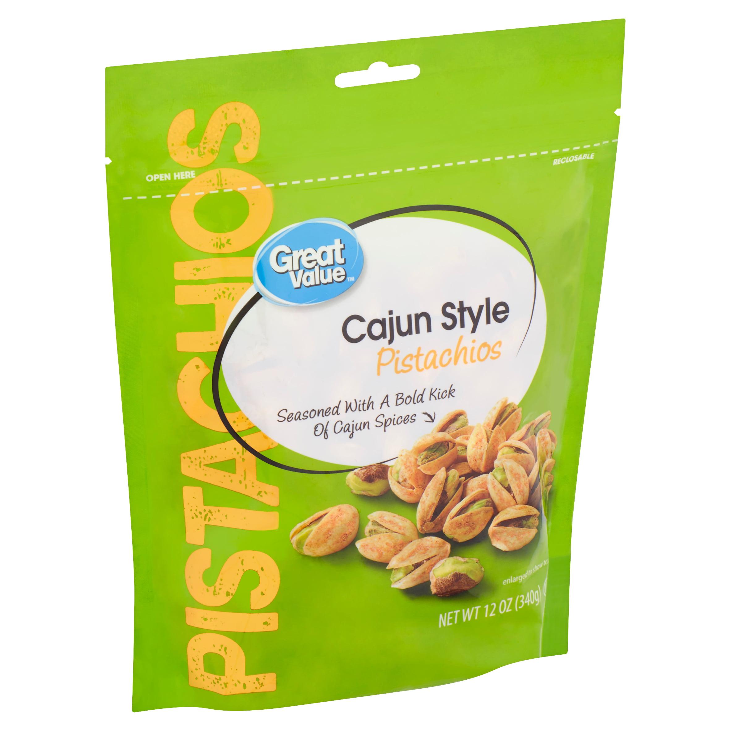 9c2802ef9be Great Value Cajun Style Pistachios