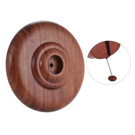 Cello Endpin Rest Stop Holder Anchor Protector Non-slip Pad Rosewood - image 1 de 6