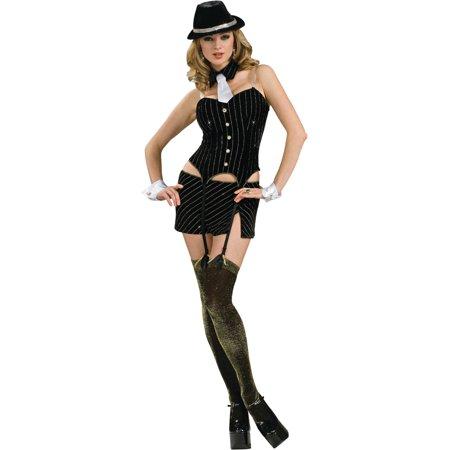 Women's Deluxe  Roaring 20s Miss Gangster (Homemade 20's Gangster Costume)