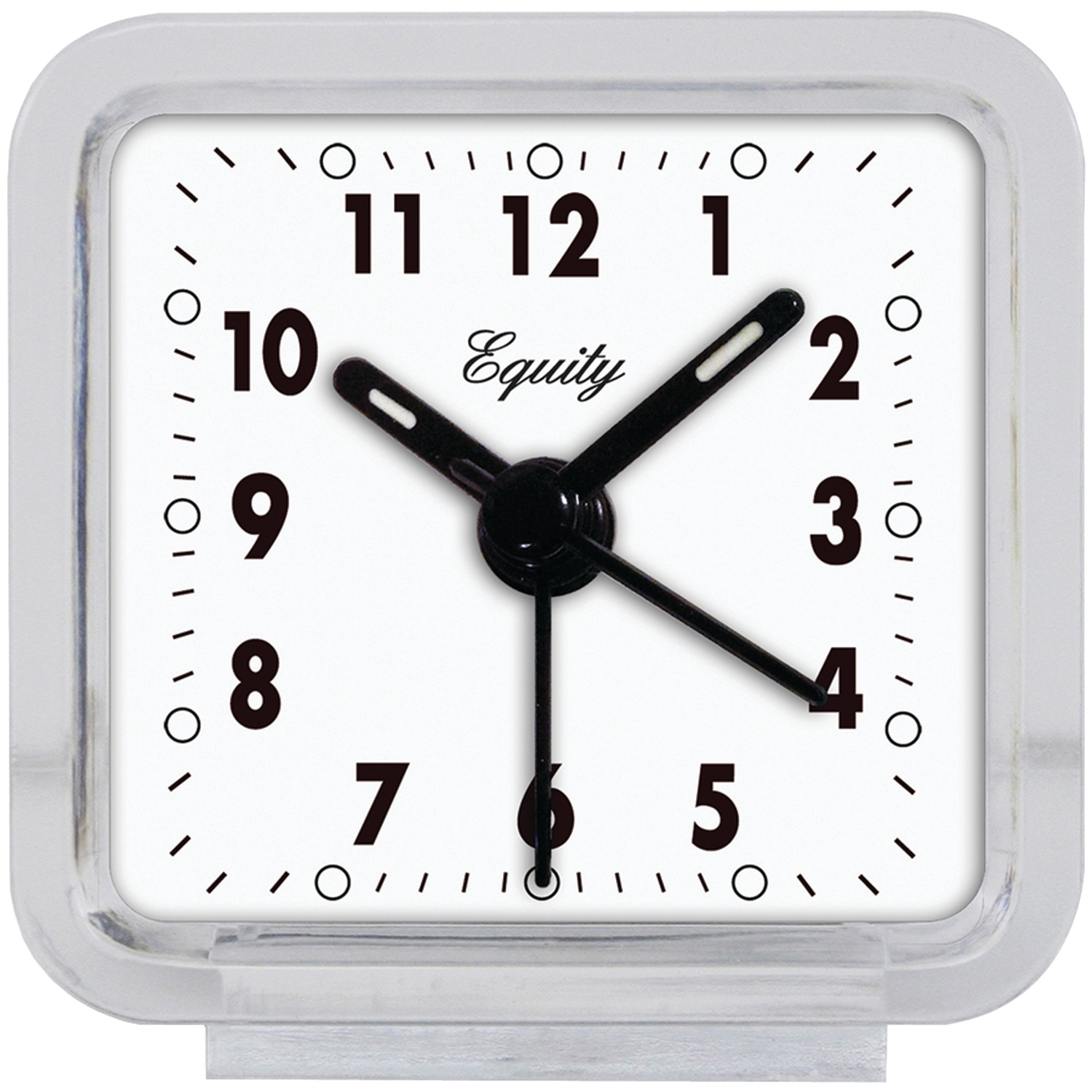 Equity by La Crosse 21038 Clear Quartz Alarm Clock