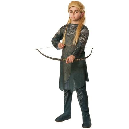 Child's Boys Lord Of The Rings Hobbit Desolation Of Smaug Legolas Elf Costume](Legolas Child)