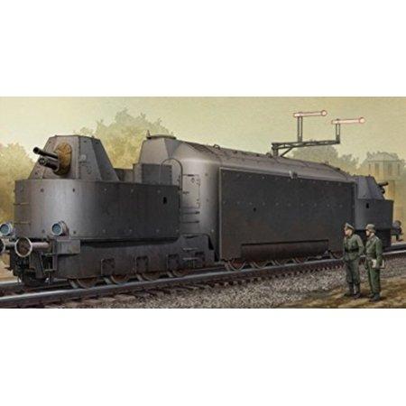 - TRUMPETER 223 1/35 German Armored Train Panzertriebwagen Nr.16
