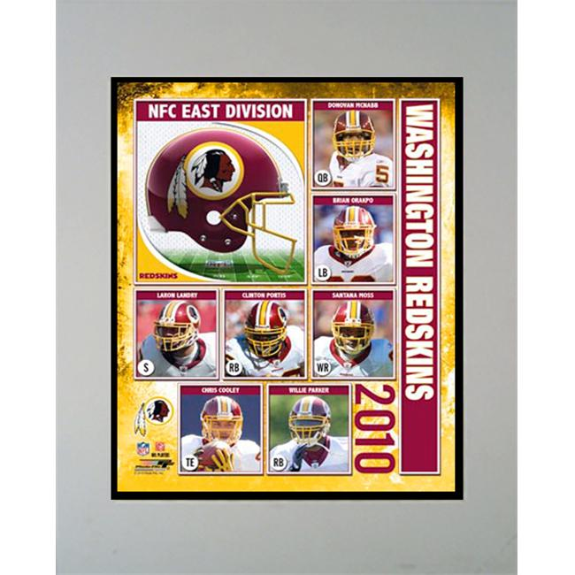 Encore Select M2-FBWA2010 2010 Washington Redskins 11X14 Matted Photo