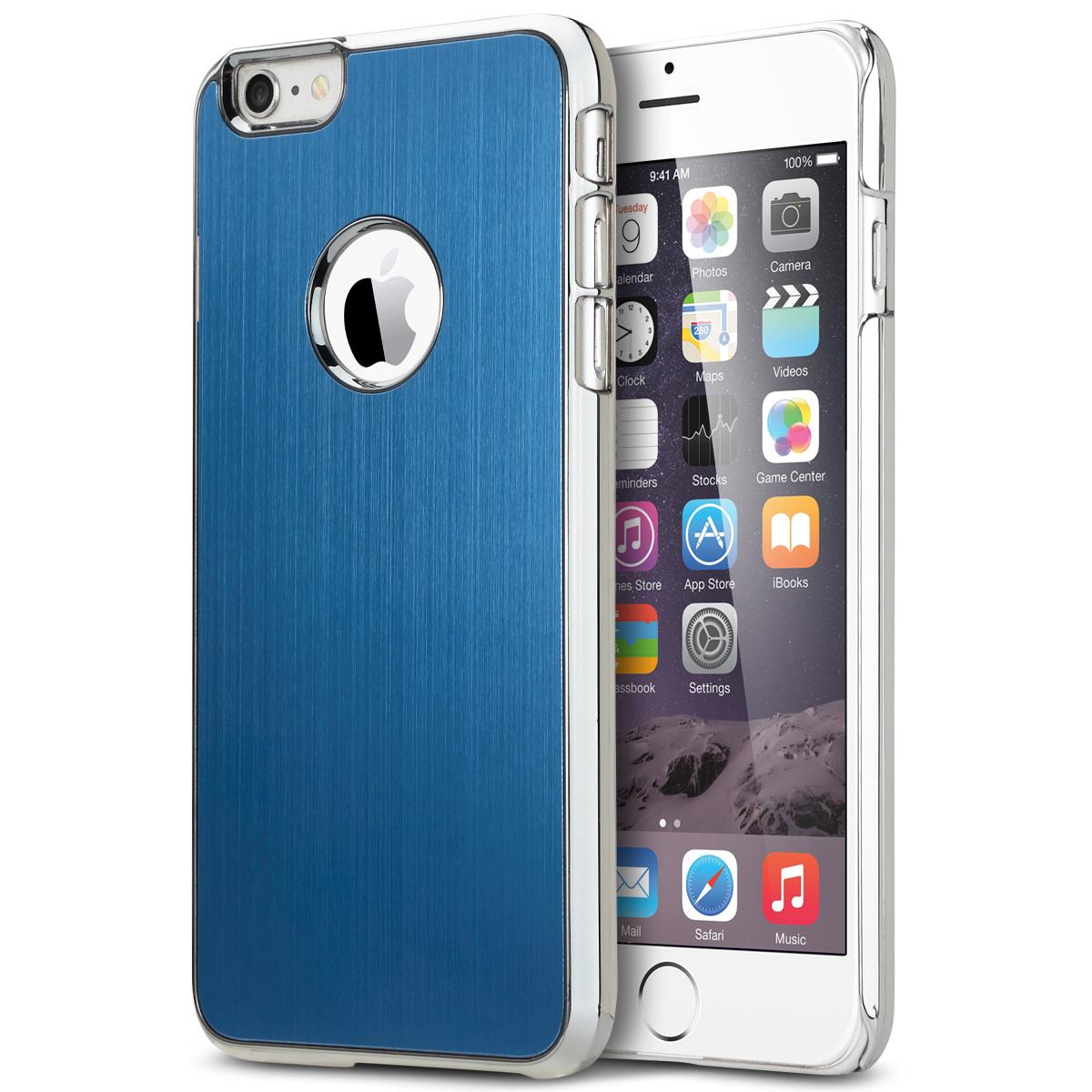 iPhone 6 Plus Case, ULAK Luxury Aluminum Chrome Coating Hybrid Hard Case Cover With PC Bumper for Apple iPhone 6s Plus / 6 Plus 5.5 Inch