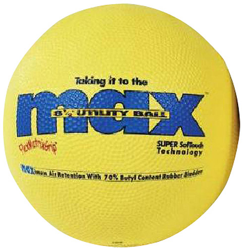 "SportimeMax Heavy Duty Kickball, 8.5"", Yellow"