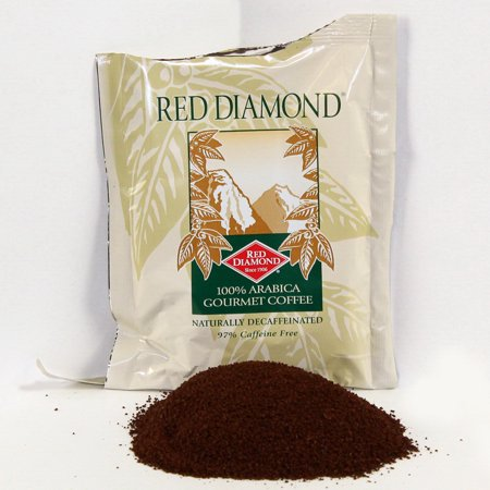 Red Diamond 108079 Coffee Decaf 100% Arabica 1-15 Pound