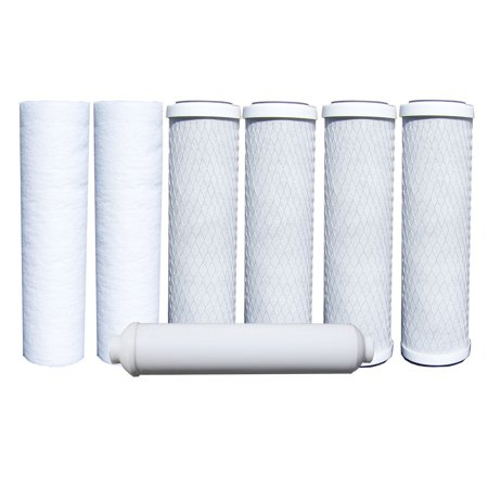 - Watts 7-PK RO Filters Premier (500024 Compatible) 1 year 5 Stage Reverse Osmosis Replacements