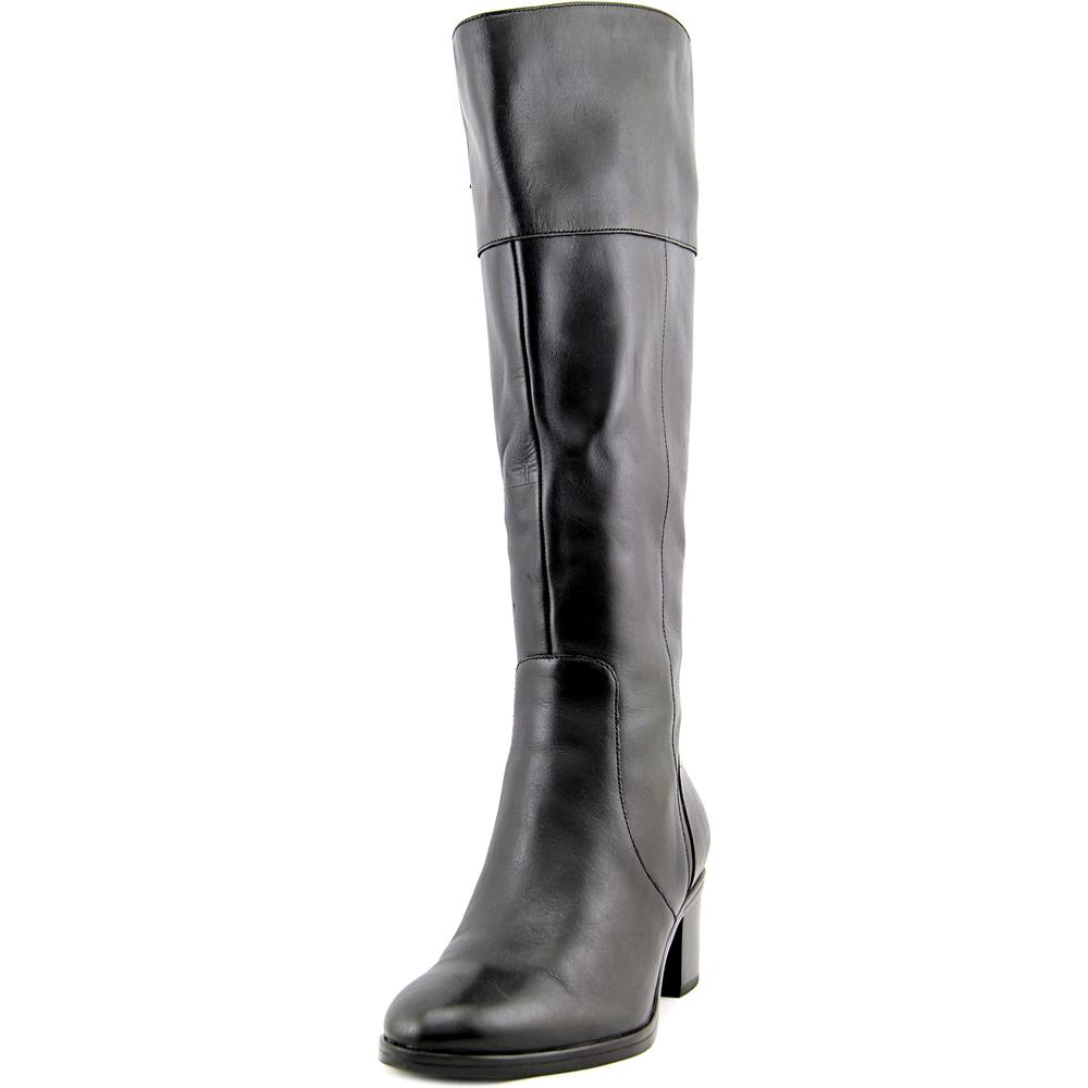 Naturalizer Harbor Wide Calf Women WW Round Toe Leather Knee High Boot by Naturalizer