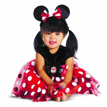 Costumes Disney Characters (Disney Character Costumes : My First Disney Red Minnie Costume 6-12)