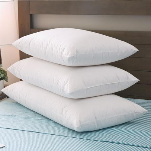 Grandeur Collection Blended Luxury Goose Down and Down Alternative Pillow Standard